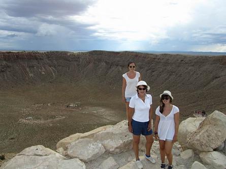 meteor crater arizona etats-unis voyage aux usa en famille
