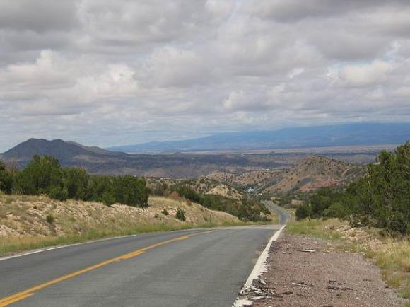 turquoise trail nouveau mexique etats-unis voyage aux usa en famille