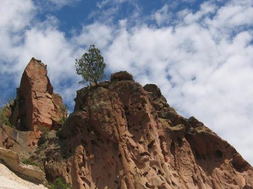 bandelier national monument nouveau-mexique etats-unis voyage aux usa en famille