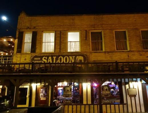 The White Elephant Saloon de Forthworth à voir lors d'un voyage aux USA en famille