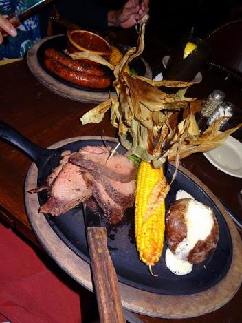 Une cuisine BBQ typiquement Texane au H3 Ranch à Fort Worth à découvrir lors d'un voyage en amérique en famille