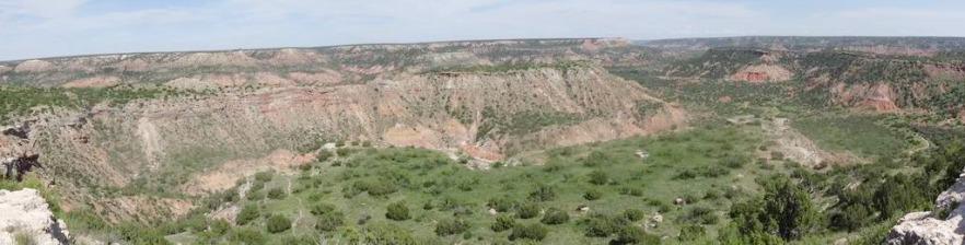 Palo Duro Canyon au Texas lors d'un voyage aux USA en famille
