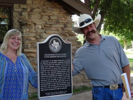 Historic Landmark au Starlight Canyon Retreat au Texas lors d'un voyage aux USA en famille