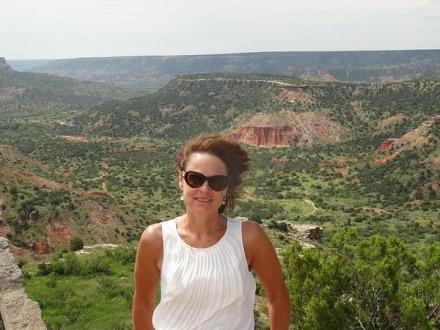 Belle vue sur le Palo Duro Canyon State Park au Texas pendant un voyage aux Etats-Unis en famille