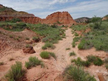 le Palo Duro Canyon à découvrir pendant un voyage en Amérique en famille
