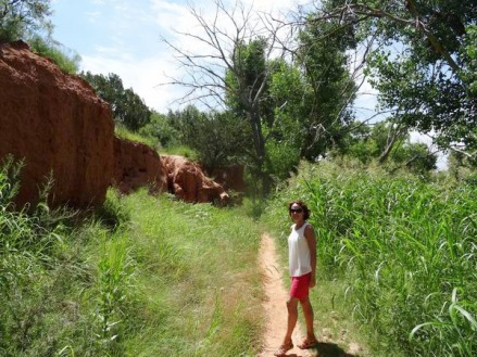 Un paysage totalement différent de celui du Lighthouse Trail à voir au Texas pendant un voyage aux USA en famille