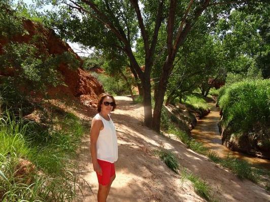 De la fraîcheur dans la chaleur de l'été au Texas lors d'un voyage aux Etats-Unis en famille