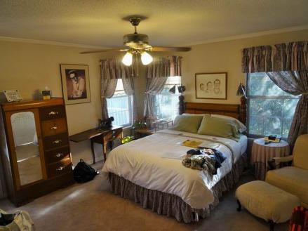 Lubbock Texas Etats-Unis dans la chambre lors d'un voyage aux USA en famille
