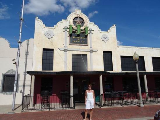 Triple J restaurant à Lubbock au Texas pour diner lors d'un voyage aux Etats-Unis en famille