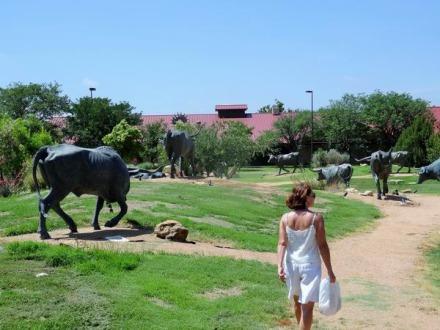 National Ranching Heritage Center à Lubbock au Texas à voir lors d'un voyage en Amérique en famille