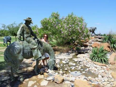 National Ranching Heritage Center à Lubbock au Texas à visiter au cours d'un voyage aux Etats-Unis en famille