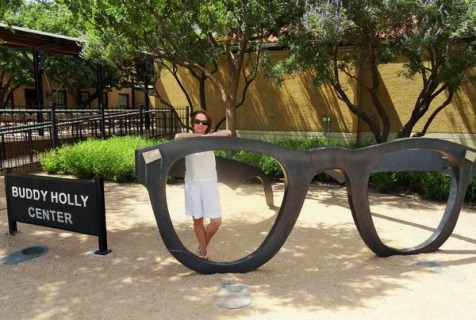 Buddy Holly Center à visiter à Lubbock pendant un voyage aux Etats-Unis en famille