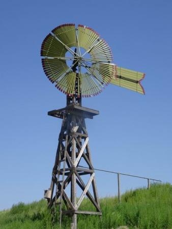 Windmill à Lubbock au Texas à voir pendant un voyage aux USA en famille