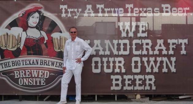 Le Big Texan brasse sa bière à Amarillo au Texas à déguster lors d'un voyage aux Etats-Unis en famille