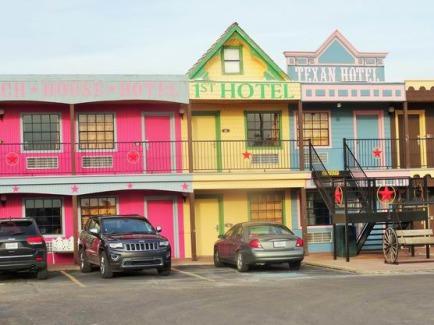 Le Big Texan Motel à Amarillo où séjourner pendant un voyage en Amérique en famille