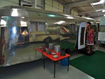 Une caravane de 1955 à Amarillo à découvrir pendant un voyage aux Etats-Unis en famille