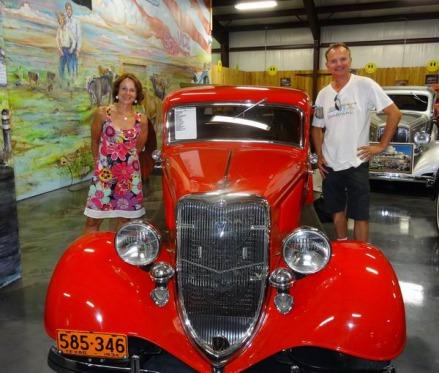 bill's backyard classics à amarillo au Texas à explorer lors d'un voyage aux Etats-Unis en famille
