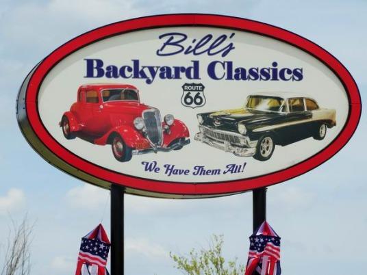 bill's backyard classics à amarillo au Texas à aimer pendant un voyage en Amérique en famille