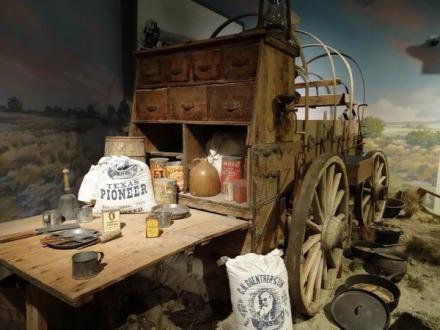 Cuisine de pionnier au Panhandle Plains Historical Museum à découvrir au cours d'un voyage aux Etats-Unis en famille