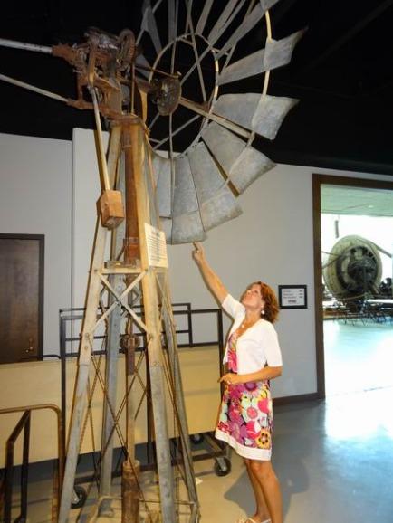 Les Windmills à Amarillo à découvrir pendant un voyage en famille aux Etats-Unis