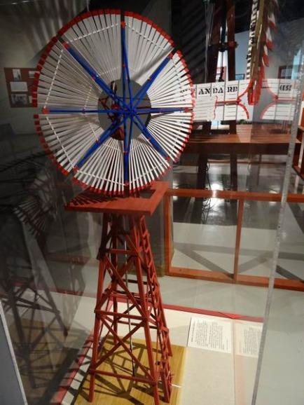 Une maquette de Windmill à découvrir à Canyon au cours d'un voyage en famille en Amérique