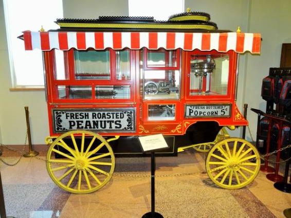 chariot nostalique à Amarillo à découvrir lors d'un voyage aux USA en famille