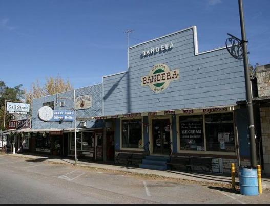 General Store de Bandera au Texas pour shopper lors d'un voyage en USA en famille