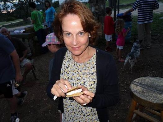 biscuit à composer à Banderas au Texas pendant un voyage en Amérique en famille