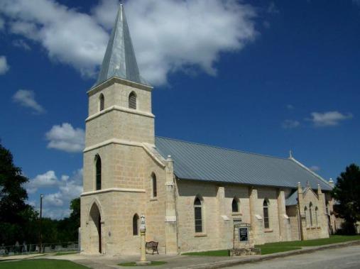 Saint Stanislaus Catholic Church de Bandera au Texas à visiter au cours d'un voyage aux Etats-Unis en famille