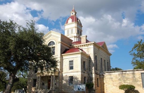 Bandera County Courthouse à voir au cours d'un voyage aux Etats-Unis en famille