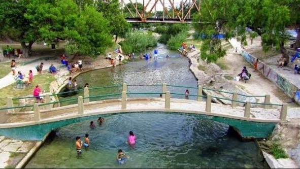 San Felipe Springs à Del Rio au Texas où se baigner lors d'un voyage aux Etats-Unis en famille