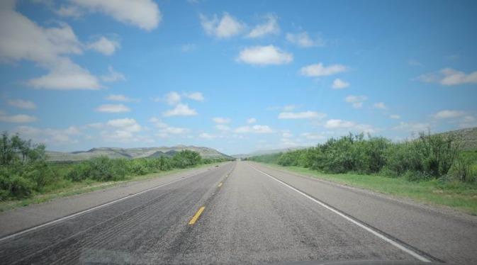 La route 90 à parcourir lors d'un voyage aux usa en famille
