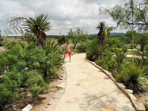 Nature Trail à Langtry à parcourir pendant un voyage en Amérique en famille