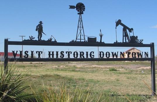 Historic Fort Stockton au Texas à visiter pendant un voyage aux Etats-Unis en famille