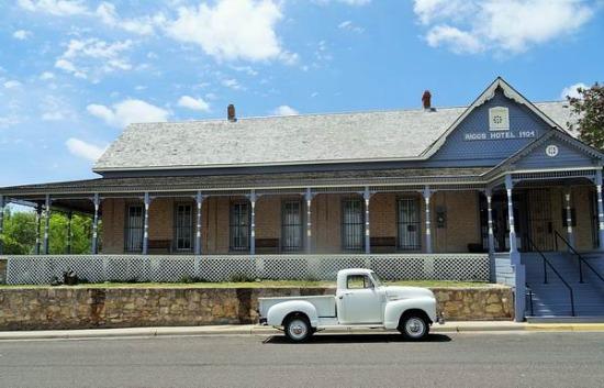 Annie Riggs Memorial Museum à Fort Stockton à visiter pendant un voyage aux Etats-Unis en famille