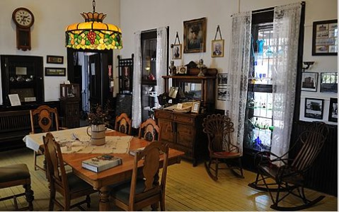 Annie Riggs Memorial Museum à Fort Stockton au Texas à voir lors d'un voyage aux USA en famille