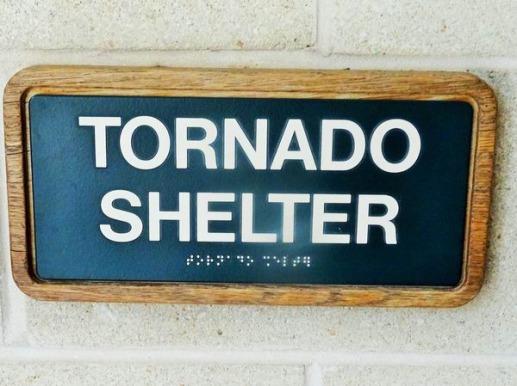tornado shelter à whichita falls au texas en cas de voyage aux Etats-Unis en famille