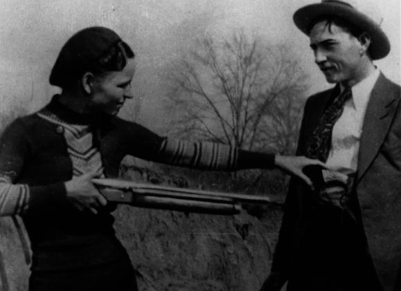 Bonnie Parker et Clyde Barrow à découvrir lors d'un voyage aux Etats-Unis en famille