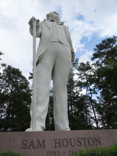 Giant Statue Of Sam Houston à voir à Huntsville pendant un voyage aux Etats-Unis en famille