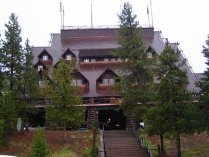 Lodge à Yellowstone au wyoming aux etats-unis où loger lors d'un voyage aux usa en famille