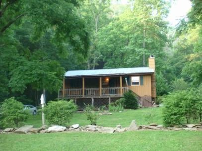 Cottage à Cherokee aux etats-unis où loger lors d'un voyage aux usa en famille