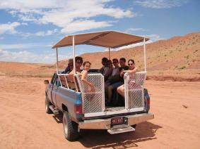 visite d'antelope canyon en arizona lors d'un voyage en famille en amérique