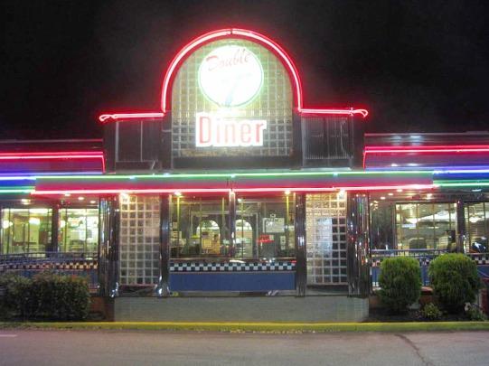 Le Double T, un Diner à l'ancienne à Annapolis dans le Maryland pour diner lors d'un voyage aux USA en famille