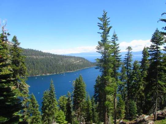 Lake Tahoe Emerald Bay State Park aux Etats-Unis en Californie à voir lors d'un voyage aux USA en famille
