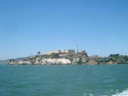 L'ile d'Alcatraz à San Francisco  en californie aux usa à visiter lors d'un voyage aux etats-unis en famille