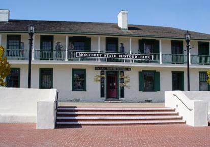 Pacific House à Monterey en californie aux etats-unis à visiter pendant un voyage aux usa en famille