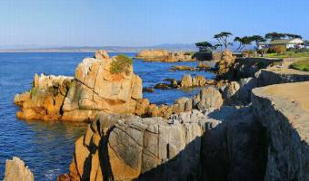 La peninsule de Monterey en californie en amériqueà voir lors d'un voyage aux usa en famille