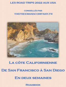 roadbook la côte Californienne en deux semaines de San Francisco à San Diego