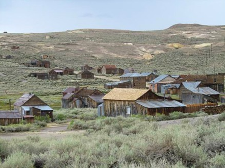 Bodie la plus grande ville fantôme de l'Ouest en californie aux Etats-Unis à voir lors d'un voyage aux USA en famille