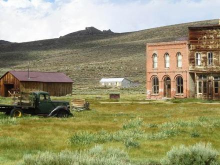 Bodie la ville fantôme de l'Ouest en californie aux USA à voir lors d'un voyage en Amérique en famille